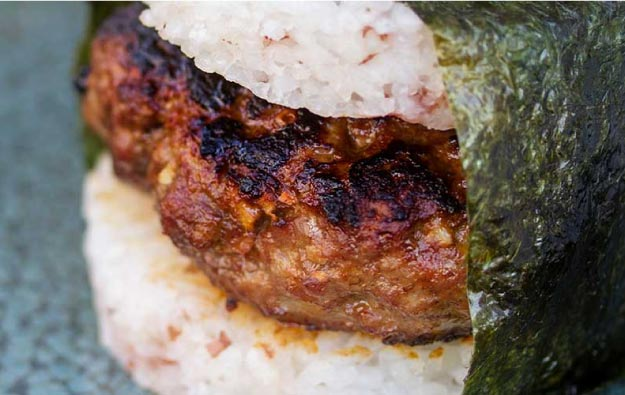 Musubi-Inspired Lamb Burger