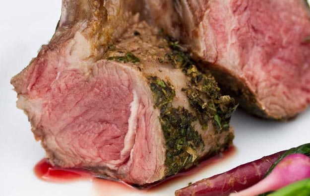 Classic Herb-Crusted Rack of Lamb